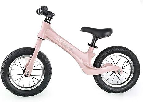 W&HH Bicicleta de Equilibrio,Bicicleta de Equilibrio sin Pedales para Niños de Aleación de Magnesio Bicicleta Infantil para Andar Niños y Niñas de 18 Meses a 5 años,Rosado: Amazon.es: Deportes y aire libre