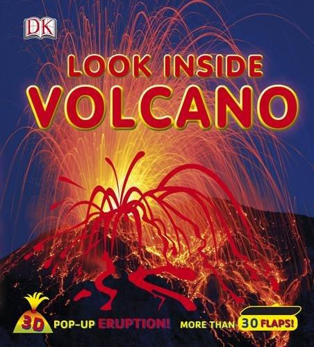 Look Inside Volcano (Dk Look Inside)
