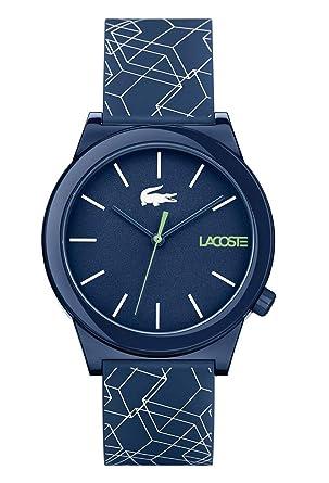56a467b72f Lacoste Mixte Analogique Quartz Montres bracelet avec bracelet en Silicone  - 2010957