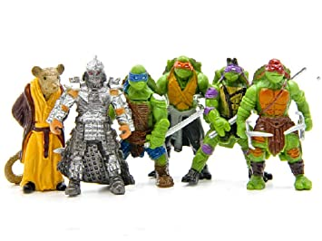 Teenage Mutant Ninja Turtles Tortugas Ninja, 6 Figuras - 5 ...