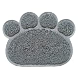 Legendog Dog Mat, Dog Feeding Mat Multifunctional Animal Footprint Pet Food Mat Door Mat Bath Rug
