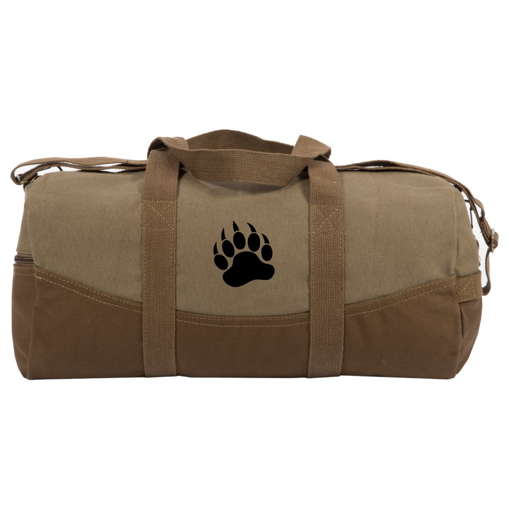 Accessories Grizzly Bear Duffel Bag,Canvas Travel Bag for Gym Sports and Overnight