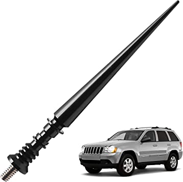JAPower Replacement Antenna Compatible with Dodge RAM Rebel 2015-2018 2 inches-Black