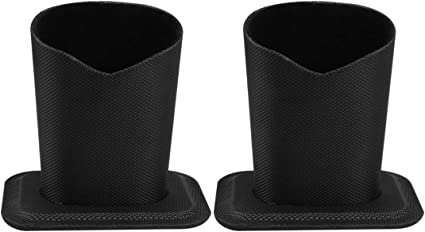 Healifty 2 Piezas de Soportes para Gafas Antiarañazos Estuche Vertical de Gafas con Forro de Tela Suave Estuche Protector de Anteojos para Escritorio Mesa de Noche Mesa Auxiliar: Amazon.es: Coche y moto