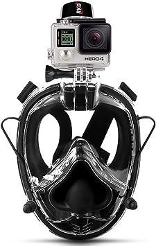 Amazon.com: RKD máscara de snorkel de cara completa, máscara ...