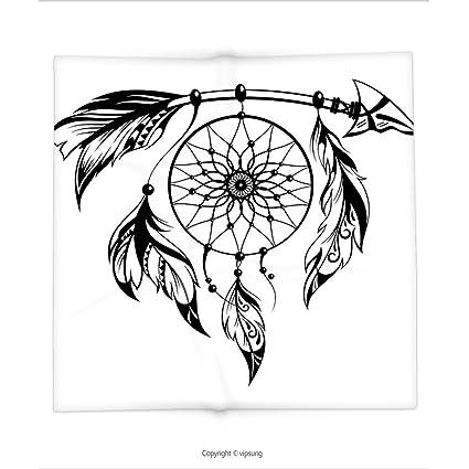 Decoración De Manta De Custom Printed Con Tribal Nativo Americano