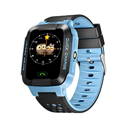 Amazon.com: GPS Y21 - Reloj inteligente para niños con ...