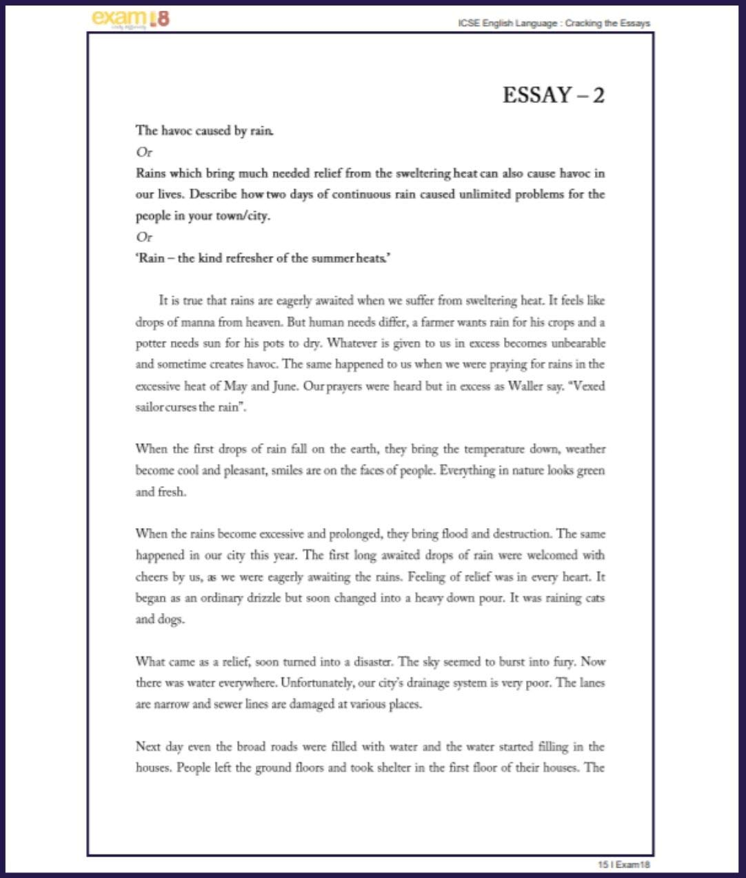 Essay On Integrity  Cell Phone Persuasive Essay also Comparison Essay Introduction Amazonin Buy Exam Cracking The English Essays For Icse  My Family Essay Sample