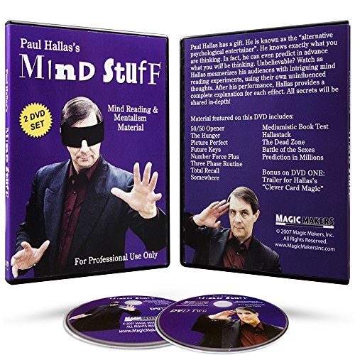 Magic Makers Mind Stuff - Mind Reading 2 Volume Course