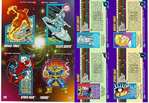Marvel Universe Series 3 Complete 200 Card Base Set (1992) by