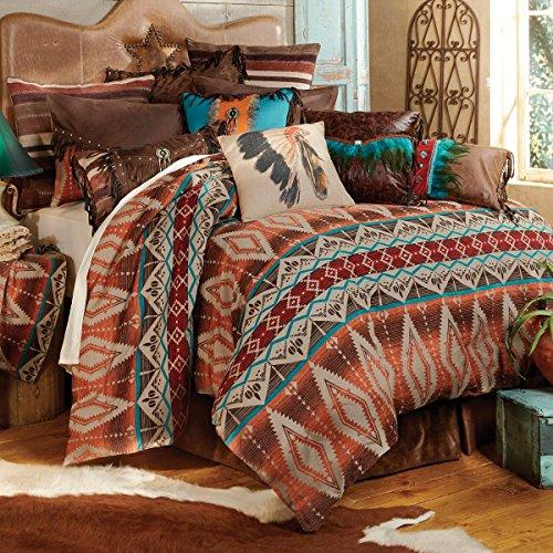 - Black Forest Decor Sonoran Sky Western Bed Set - King - Southwestern Bedding Linens