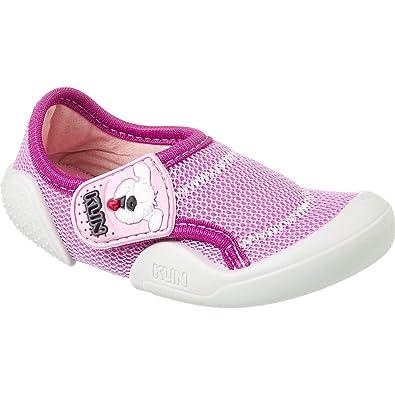 88547c072 Sapatinho de Bebê Feminino Klin New Comfort Pink Cor  Orquidea Rosa - Tam.