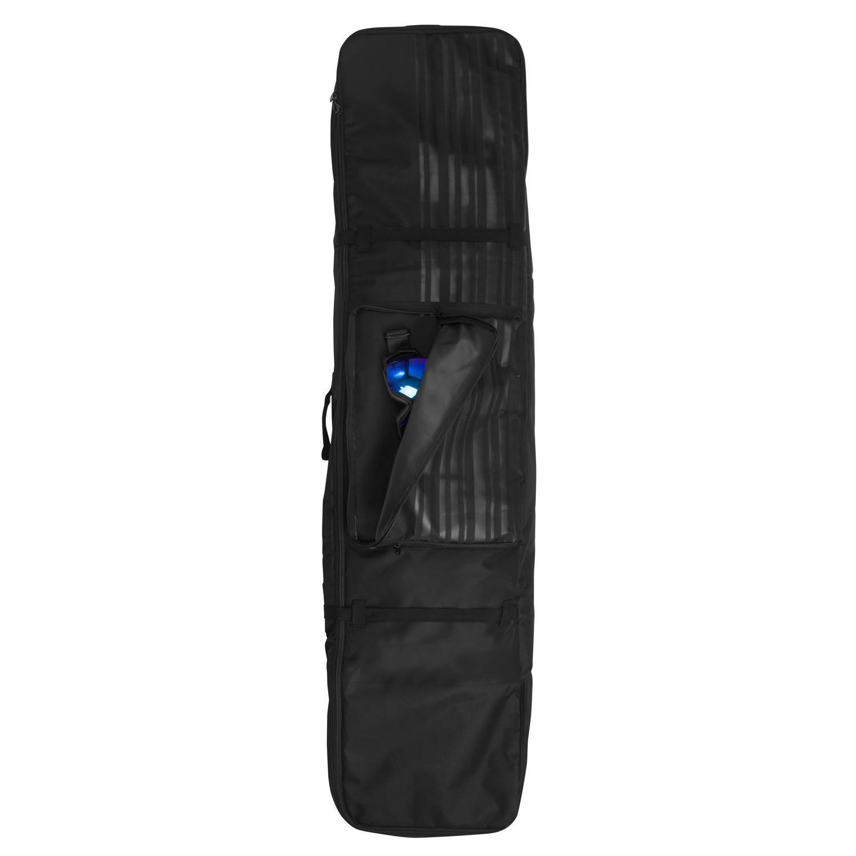Winterial 2018 Snowboard Bag, Carrying Bag, Snow Gear, Snowboard, Black, WHEELED BAG