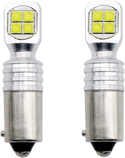 White 13-SMD LED No Error Free Canbus Side Light Bulbs Upgrade /'HID/' Lamps