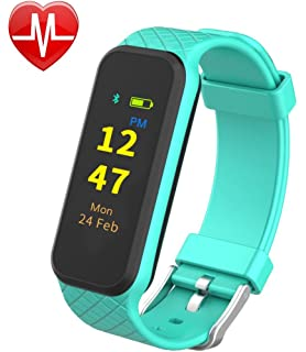 InChor HR2 Fitness Tracker, Activity Tracker Wristband Smart Sports Band Watch with Touch Screen Step