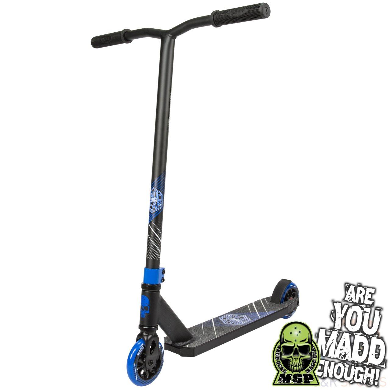 Madd Gear Kick Extreme - Patinete (negro/azul): Amazon.es ...