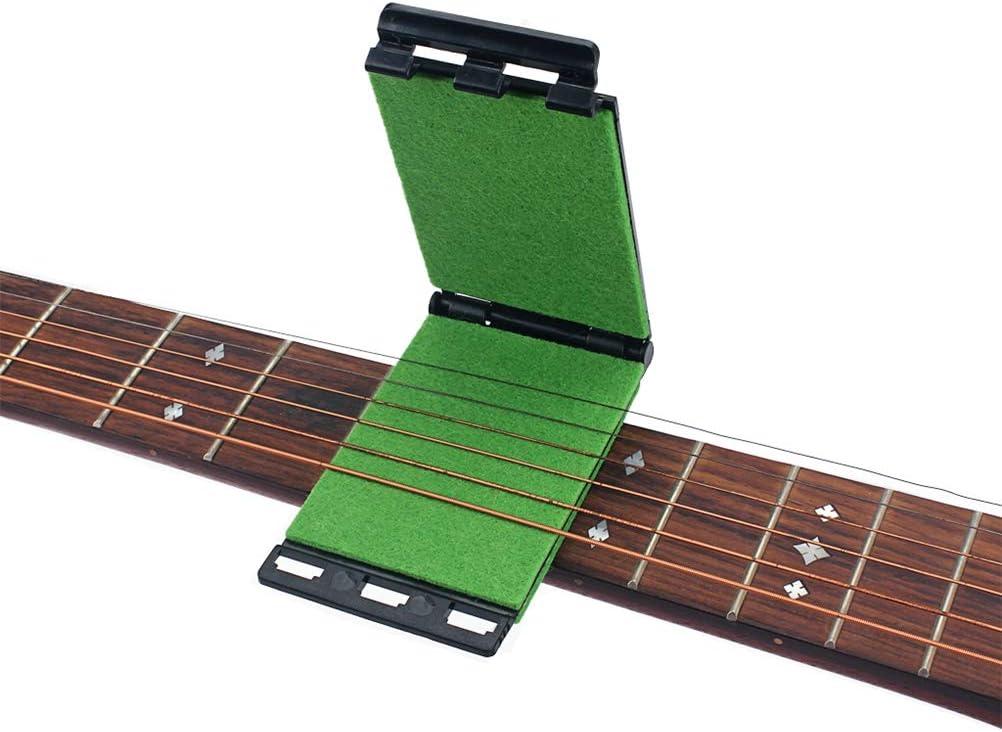 HEALLILY Limpiador de cuerdas Limpiador de cuerdas y diapasones para guitarras acústicas eléctricas