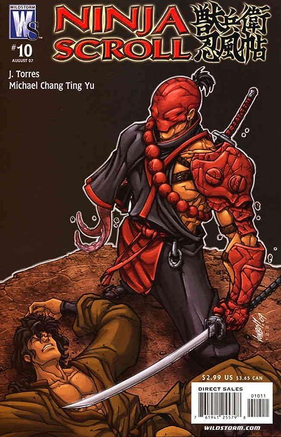Amazon.com: Ninja Scroll #10 FN ; WildStorm comic book ...