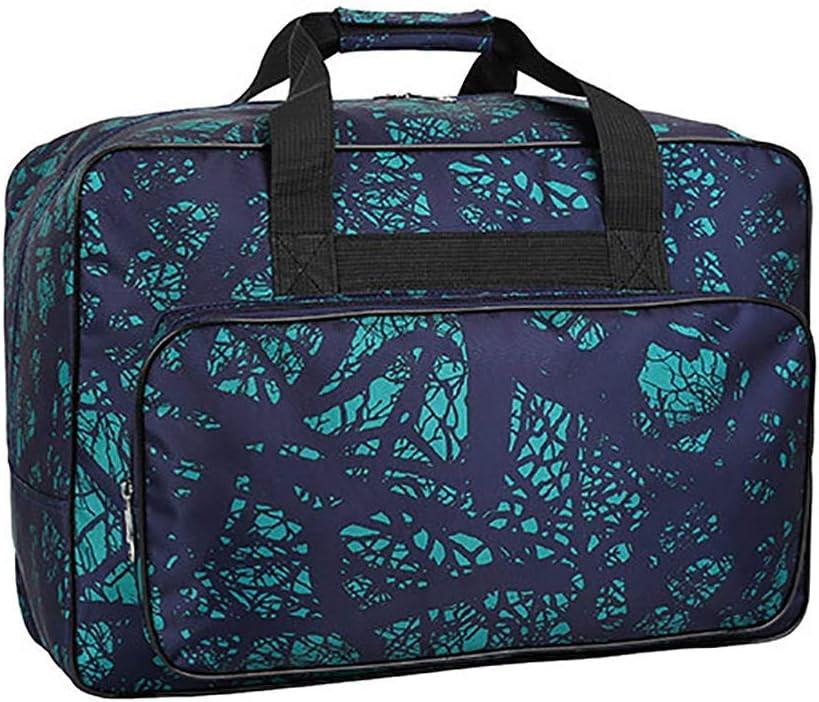 Bolsa de protección para máquina de coser, acolchada, a prueba de polvo, con asas y bolsillos, funda de almacenamiento acolchada para máquina de coser plegable, 3 unidades