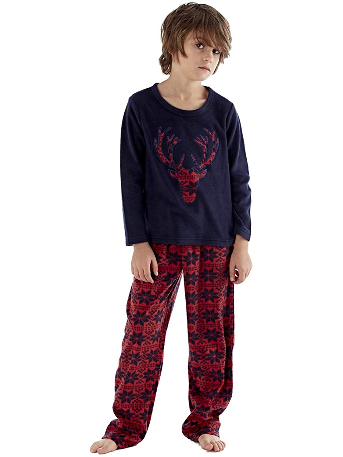 Harvey James para Hombre Pantal/ón de Pijama