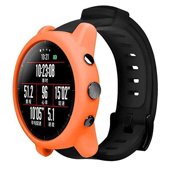 Amazon.com: Silicone Watch Protective Case for Xiaomi Huami ...