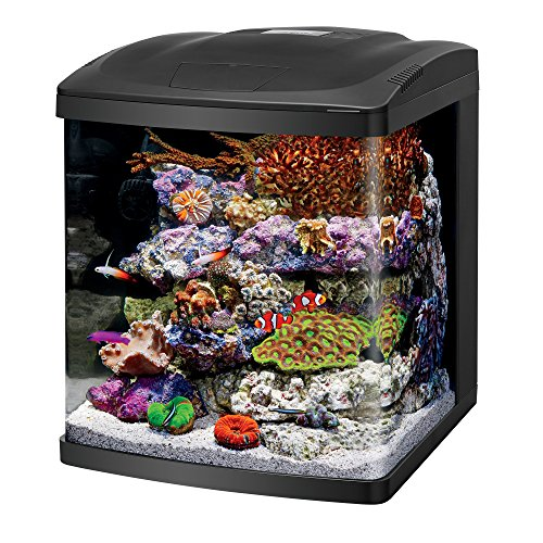 - Coralife Fish Tank LED BioCube Aquarium Starter Kits, Size 16