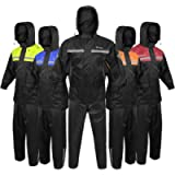 ALPHA CYCLE GEAR RAIN SUIT (BLACK, SMALL)