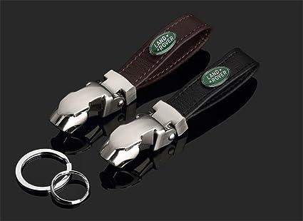 Creative leopardo cabeza llavero clave cadena Land Rover ...