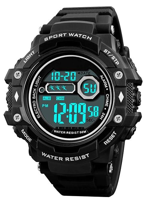 c3bf9fc40dc4 Reloj de Pulsera Digital para Hombres