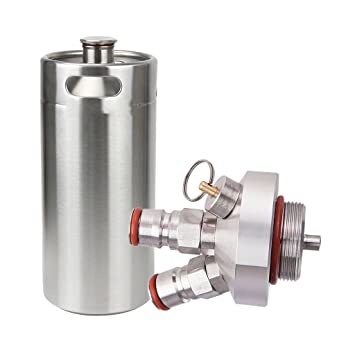 IPOTCH Kit de Mini Dispensador de Grifos Lanzas Barril Cerveza Artesanal ocina Refrigerante Elaboración Casera: Amazon.es: Hogar