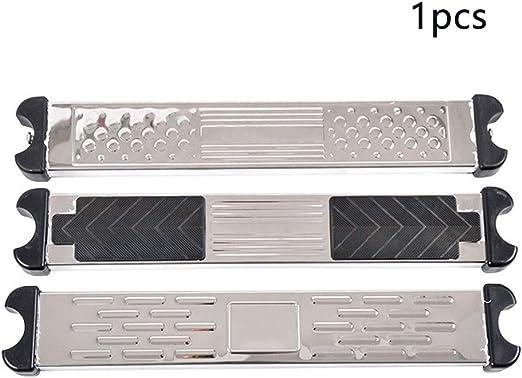 Bclaer72 - Pasos escalonados de Acero Inoxidable para Piscina con 2 Tornillos, Escala escalonada de Pasos para la Piscina Duradera, Show, 1 pc: Amazon.es: Hogar
