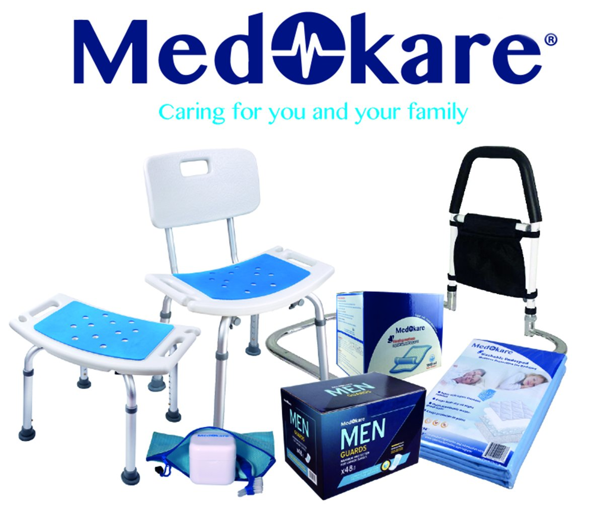 Medokare Bedside Commode Chair - Heavy-Duty Steel Commode Seat, Bedside Potty Chair for Adults, Medical Handicap Toilet Seat with Handles and Bucket by Medokare (Image #7)