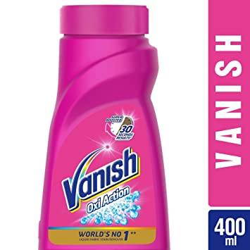 Vanish Oxi Action Stain Remover Liquid 400 Ml Amazon In Health