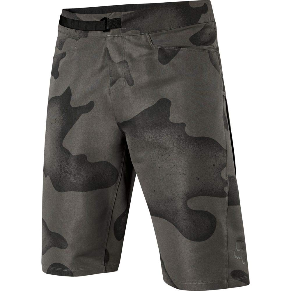 Fox Racing Ranger Cargo Print Short - Men's Black Camo, 30 by Fox Racing