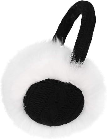 Unisex Men Women Faux Furry Fleece Winter Solid Warm Plush Ear Muffs Earwarmer