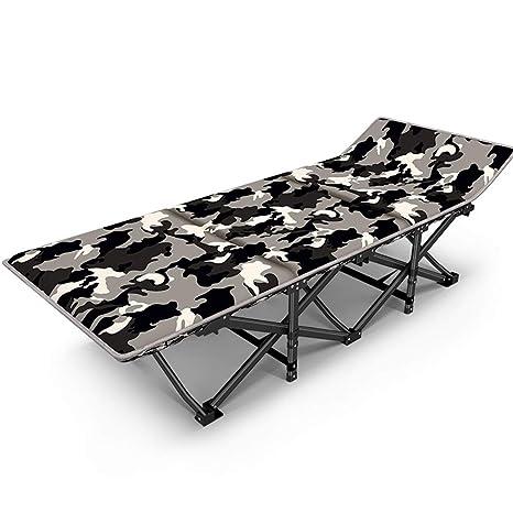 L-SYJH Tumbonas de Camuflaje, sillones para el Almuerzo ...