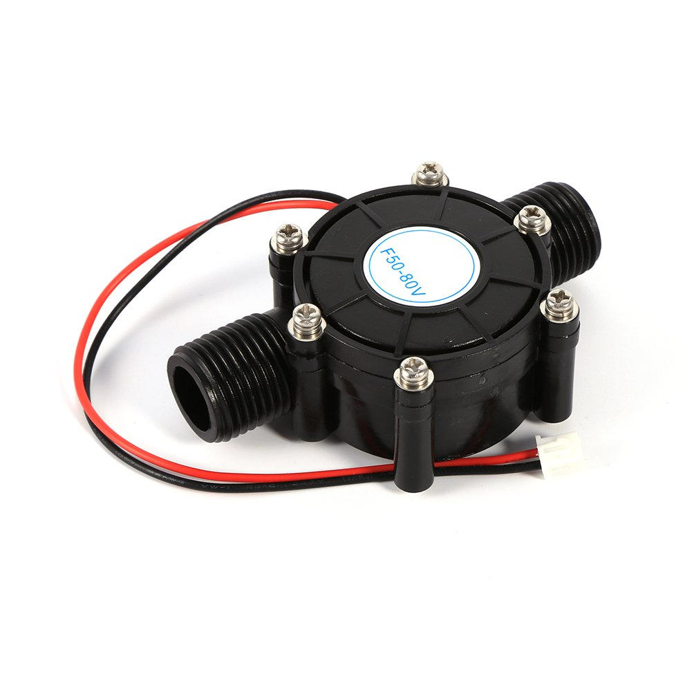 10W Water Turbine Generator Micro Hydroelectric Power Generator DIY LED Power Charging Tool DC 0-80V
