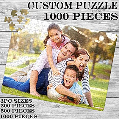 Custom Jigsaw Puzzle 1000 Pieces, with Your Favorite Pictures, Toy Gifts, Commemorative Gifts, Suitable for Adults and Children: Toys & Games