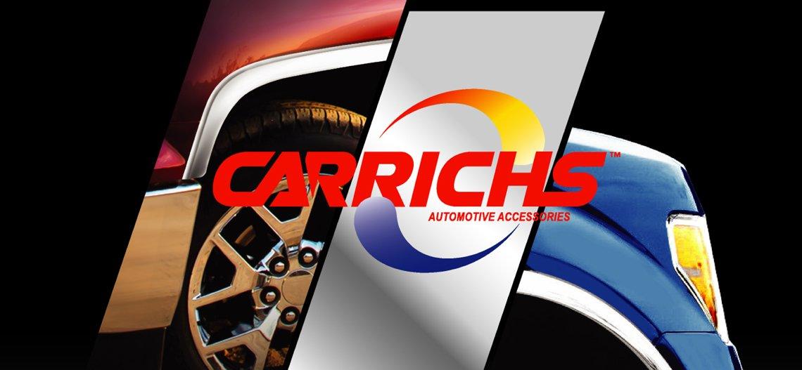 Carrichs Polished Fender Trim 2004-2015 Nissan Titan W/ Tool Box & Mud Flaps (FTNS203)