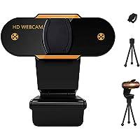 DOSYU Webcam 1080P Full HD con Micrófono Y cubierta de privacidad, USB Web Camera Con trípode, para Mac Windows Portátil…