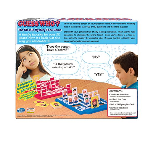 Review Guess Who? Board Game