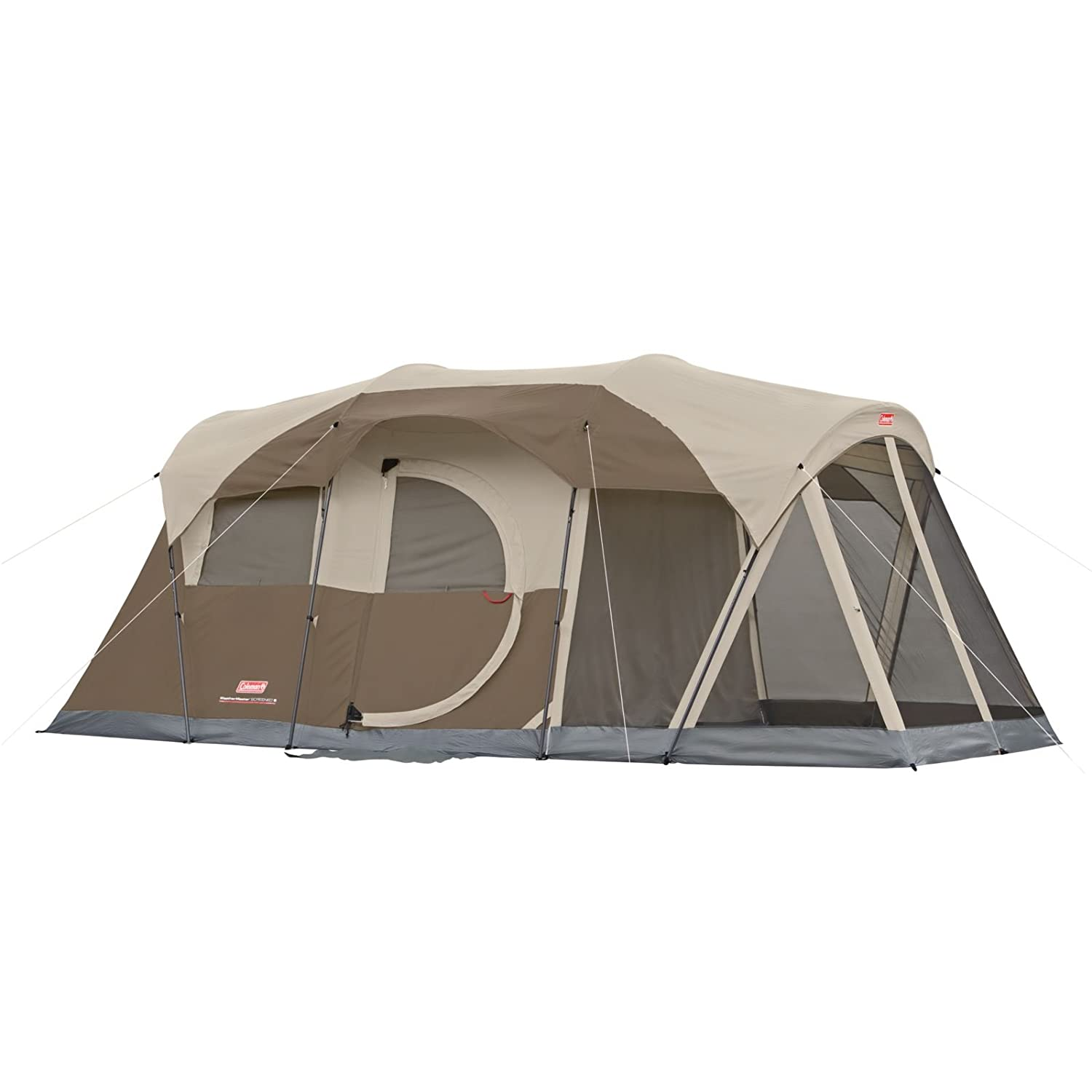 Amazon Coleman WeatherMaster 6 Person Tent With Screen Room Sports Outdoors