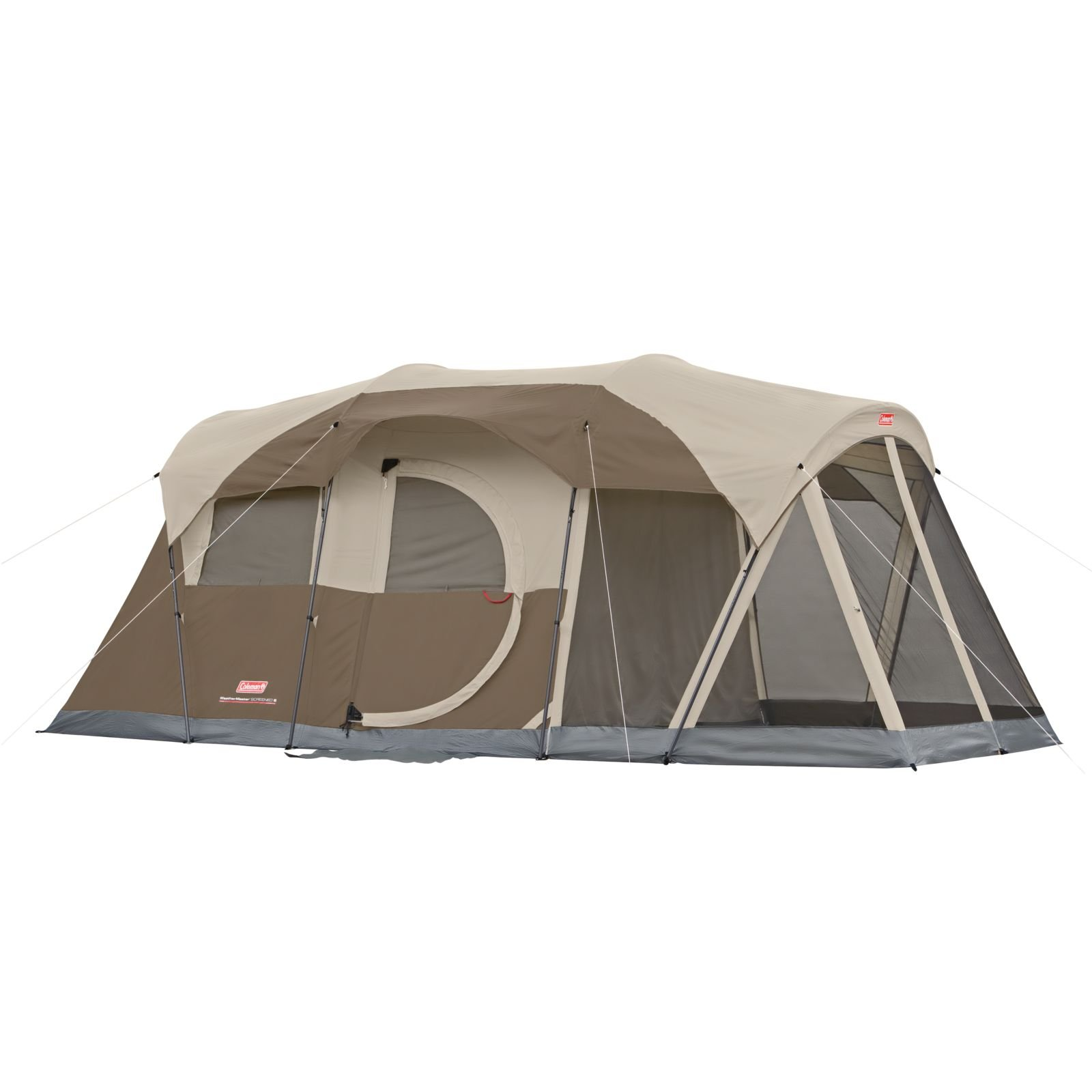 Coleman Red And Brown  Room Tent