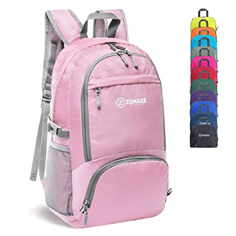 ca5758e72b61 Image Unavailable. Image not available for. Colour  ZOMAKE 30L Lightweight  Packable Backpack Water Resistant Hiking ...