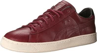 puma basket maroon