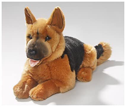 Carl Dick German Shepherd Dog 14 inches, 36cm, Plush Toy, Soft Toy,