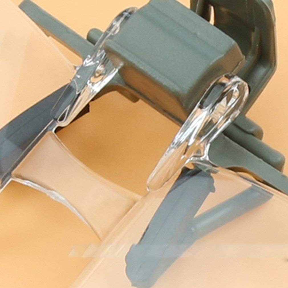 Lightleopard Acr/ílico Plegable Clip de la Lente en la Lente de Aumento Flip Lupa de Vidrio Manos Libres