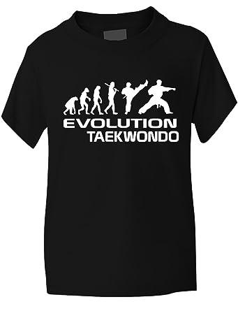 Velocitee Kids T-Shirt Eat Sleep Karate Logo 1 Martial Arts Colour Options