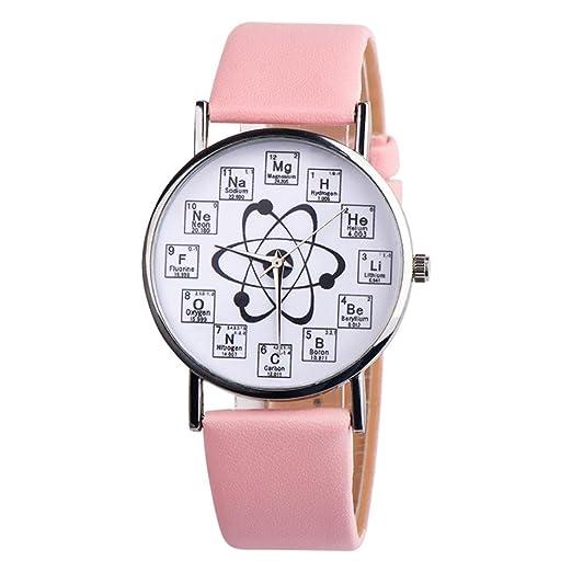 Relojes cuero mujer,KanLin1986 relojes originales mujer relojes inteligentes reloj mujer esfera pequeña reloj digitales