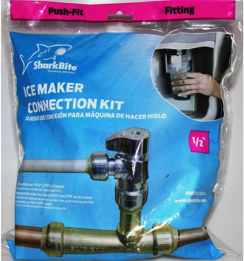 Sharkbite 25024 SharkBite Bagged Ice Maker Kit